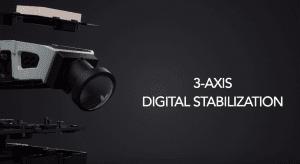 Gimbal de direction camera a 3 axes