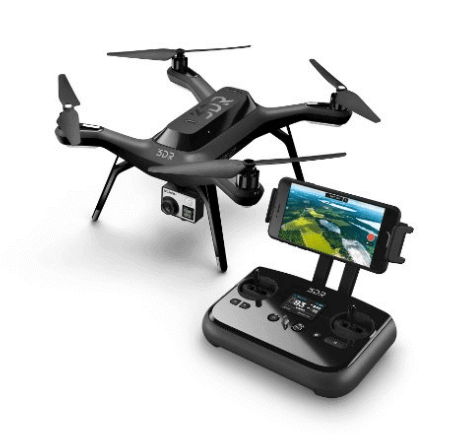 3dr solo drone et telecommande intelligente