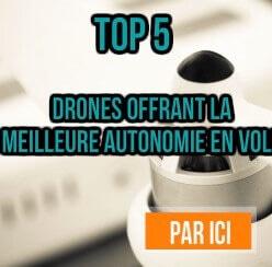 top 5 drones avec meilleure batterie