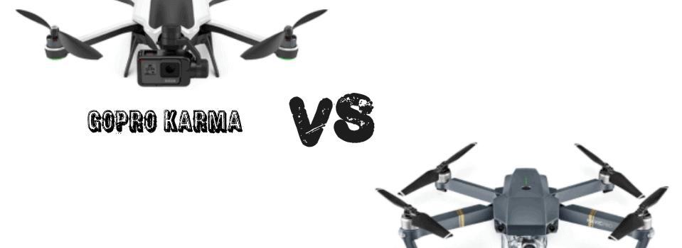 Comparatif Gopro Karma – DJI Mavic