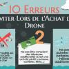erreurs courantes avant achat de drone