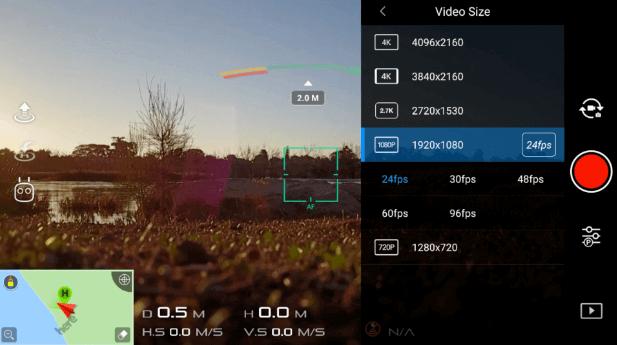 résolutions disponibles en 1080p