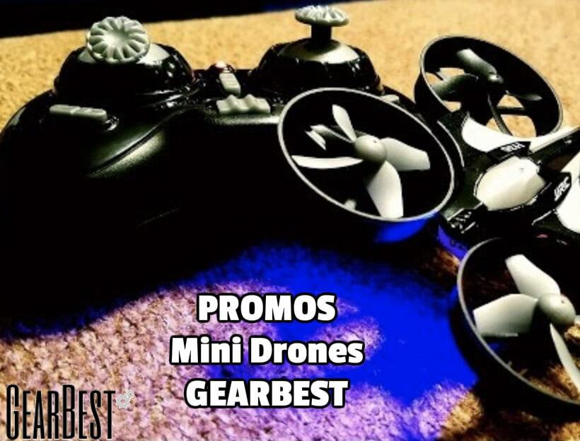 promos gearbest drones