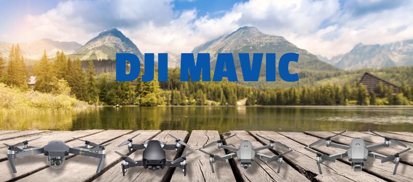 gamme dji mavic drones