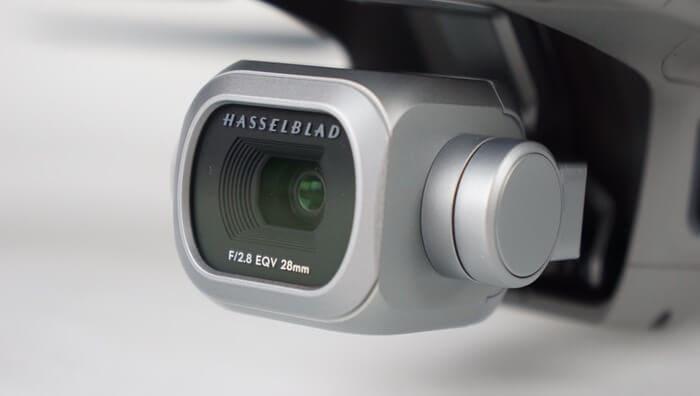 la caméra mavic 2 pro hasselblad
